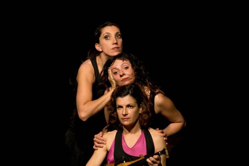 """Manuales de Saliva"" (2008) - Coreógrafa y Bailarina"