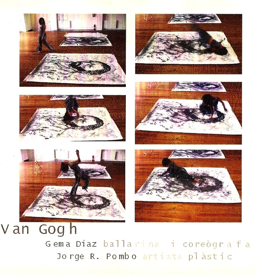 """Creativitat: La passió de Viure. Acción Van Gogh"" (2006) - Coreógrafa y Bailarina"